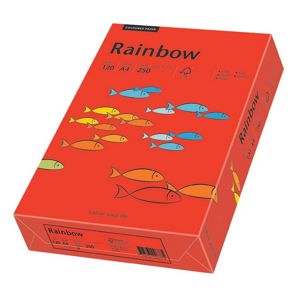 Papyrus Farbige Papiere »Rainbow« in intensivrot