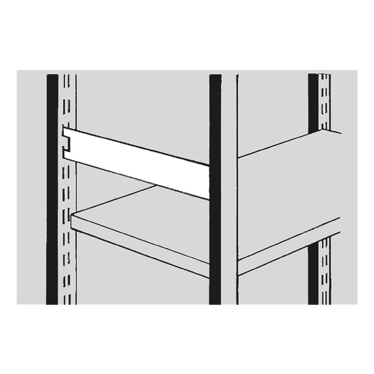 Seitensteg 50 cm für Stahlregal »Stora 100«