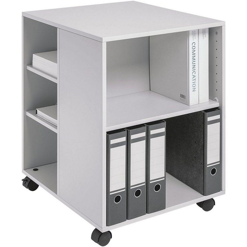 Durable Bürowagen in lichtgrau