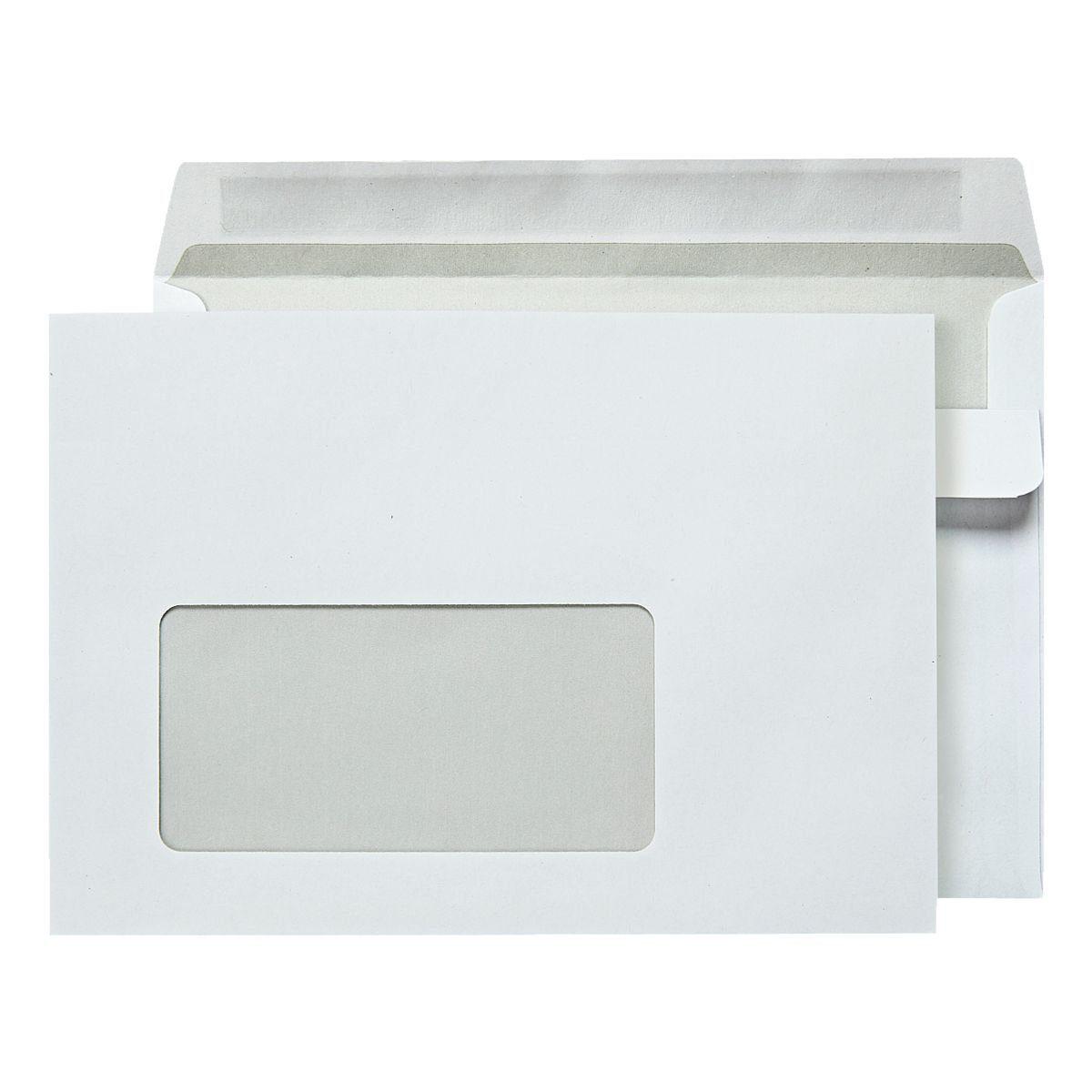 OTTOOFFICE STANDARD Briefumschläge C6 mit Fenster und Selbstklebung - 100 St...