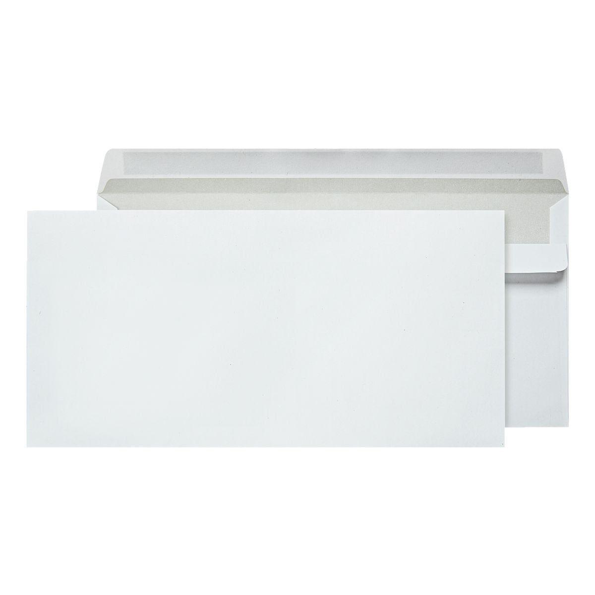 OTTOOFFICE STANDARD Briefumschläge DL ohne Fenster mit Selbstklebung