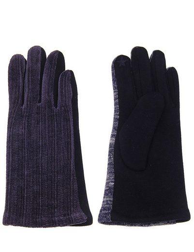 leslii Handschuhe mit modischem Strickmuster