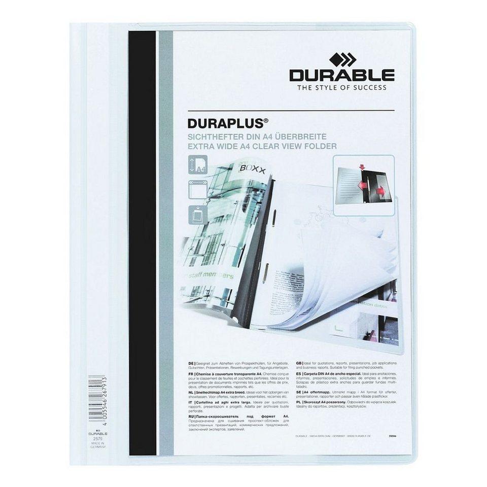 Durable Schnellhefter »Duraplus« in weiß