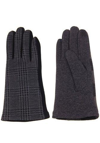 Перчатки с элегантный Karo-Muster