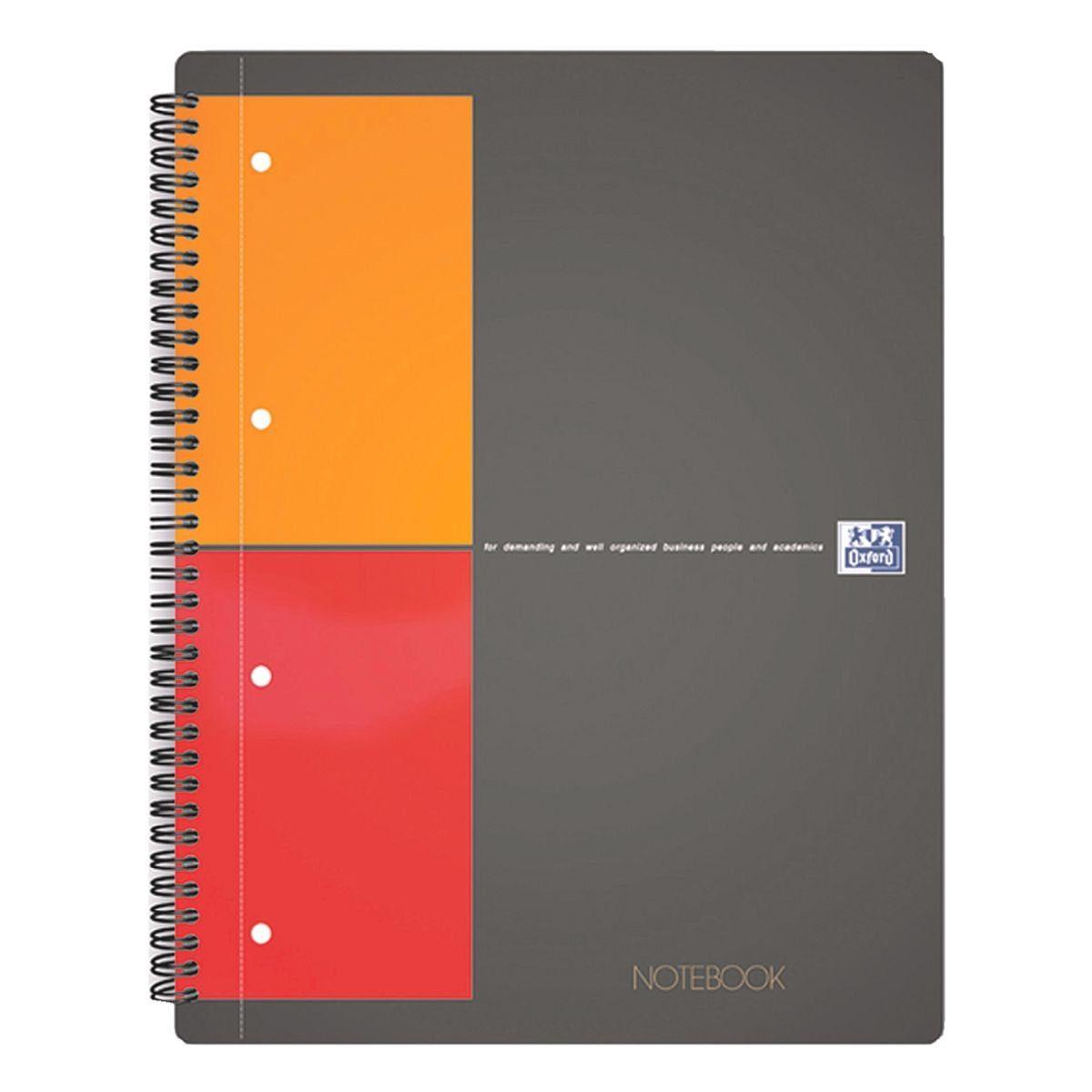 Oxford International Collegeblock A4 kariert, Premium-Papier »Notebook«