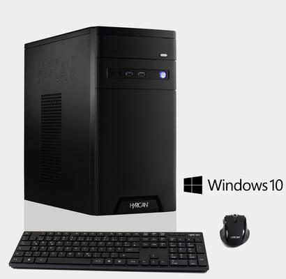 HYRICAN CyberGamer Intel® i5-8400 8GB 120GB 1TB AMD RX580 »CyberGamer 6169«