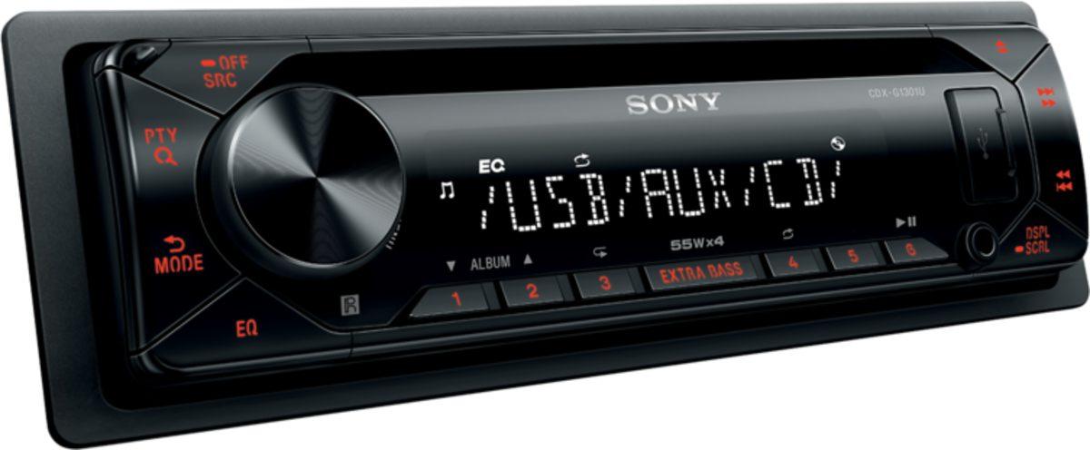 Sony Autoradio »1-DIN Autoradio, CDXG1300U«