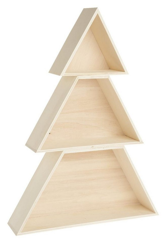 """Holzboxen-Set """"Tannenbaum"""" hoch 51 cm hoch """"Tannenbaum"""" kaufen 3f65e9"""
