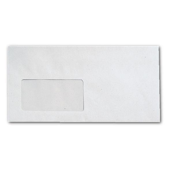 OTTOOFFICE NATURE Recycling-Briefumschläge DL mit Fenster und Selbstklebun...