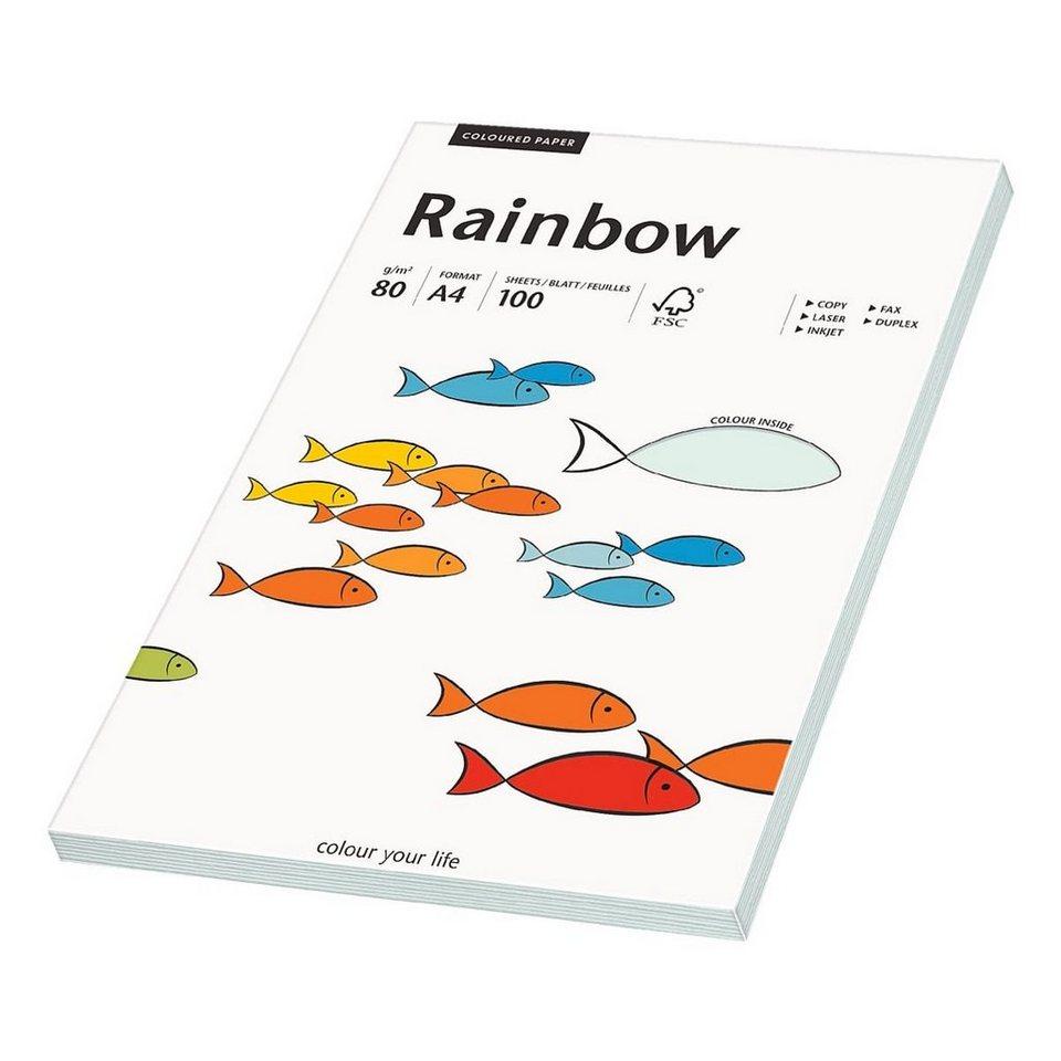Papyrus Farbige Papiere »Rainbow« in hellblau