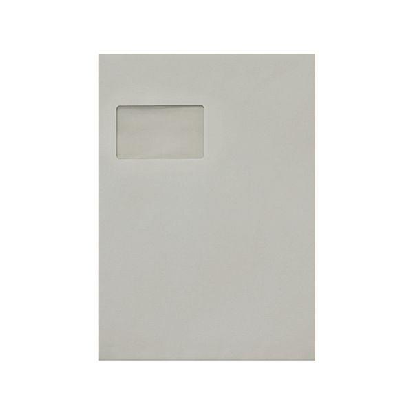 Recycling-Briefumschläge C4 mit Fenster und Selbstklebung