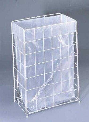 Gitterkorb für Müllbeutel 70 L weiß inkl. GRAT...