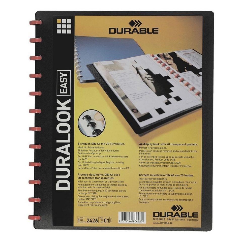 Durable Ringmappe »Duralook«