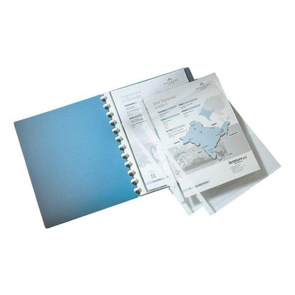 Durable Ersatzhülle A4 genarbt - 10 Stück »Cover«