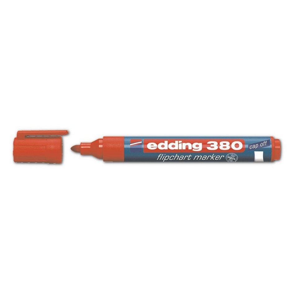 Edding Flipchart Marker »380« in rot