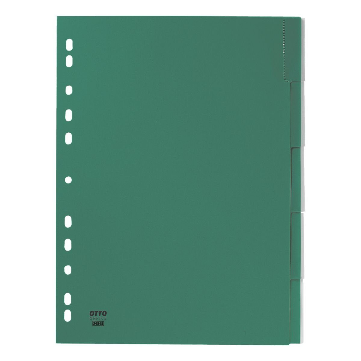 OTTO Office Standard Kunststoffregister 5-tlg. grün
