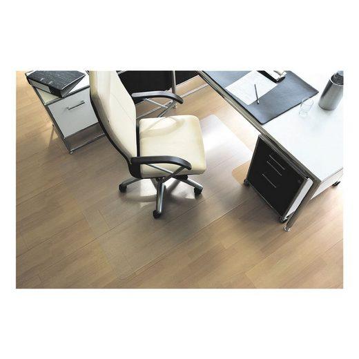 RSOFFICE Bodenschutzmatte 120x130 cm, Rechteck mit Lippe, für Hartboden »ecogrip«