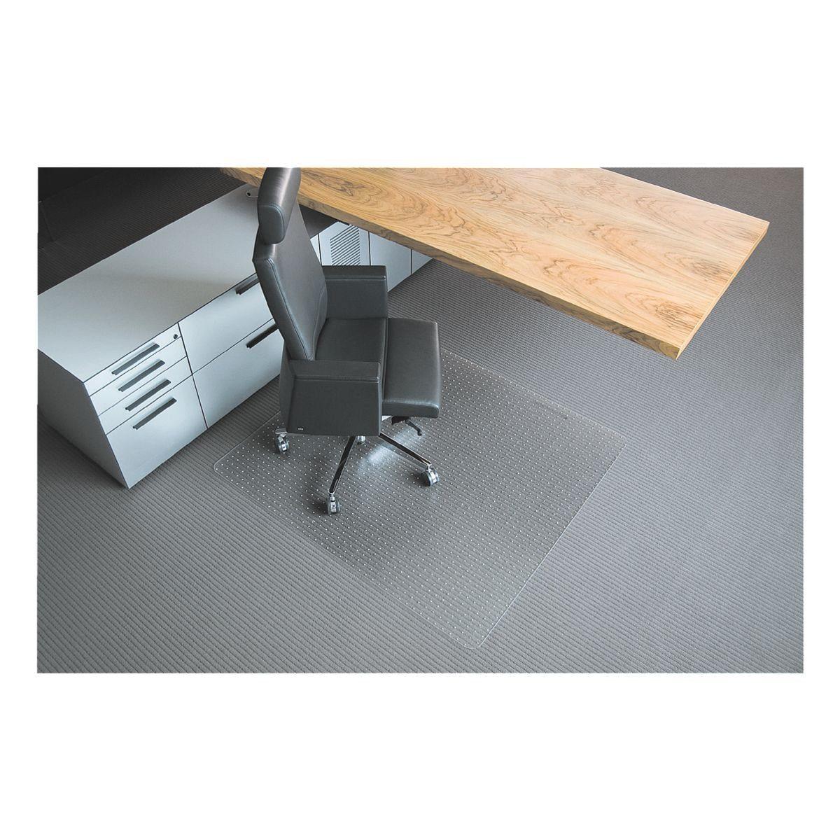 RS Office Products Bodenschutzmatte 120x180 cm rechteckig für mittelflori... »Rollt & Schützt«