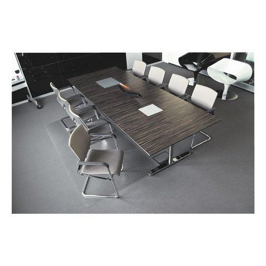 RSOFFICE Bodenschutzmatte 120x400 cm, rechteckig, für mittelflorigen Tep »Rollt & Schützt«