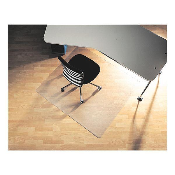 RS Office Products Bodenschutzmatte 120x130 cm, rechteckig, für Hartboden »Rollt & Schützt«