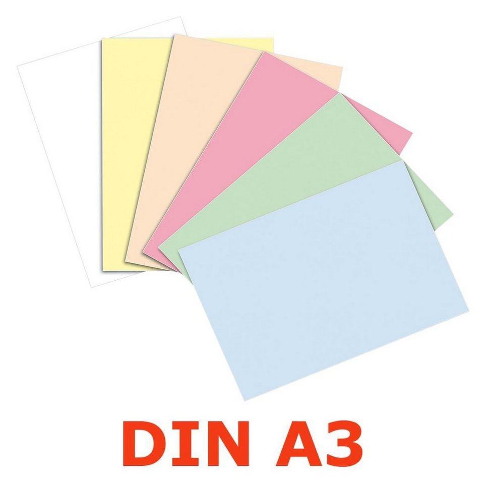 Papyrus Farbiger Karton in farbig sortiert