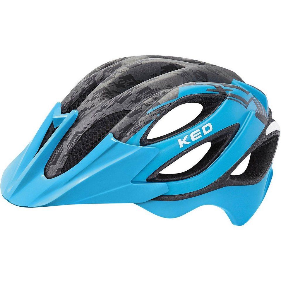 ked helmsysteme fahrradhelm paganini visor blau schwarz. Black Bedroom Furniture Sets. Home Design Ideas