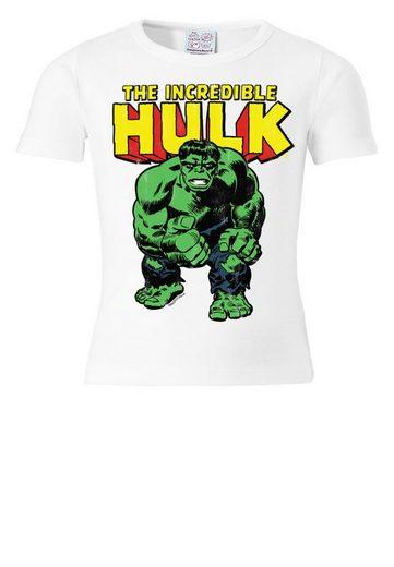 LOGOSHIRT T-Shirt mit The Incredible Hulk-Frontdruck
