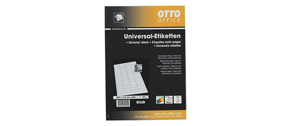 OTTO Office Premium 6400er-Pack Universal Klebeetiketten