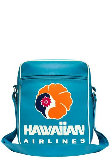Hawaiian Airlines frontprint Türkis Logoshirt Schultertasche Mit »hawaiian Airlines« 8nkPwOXN0Z