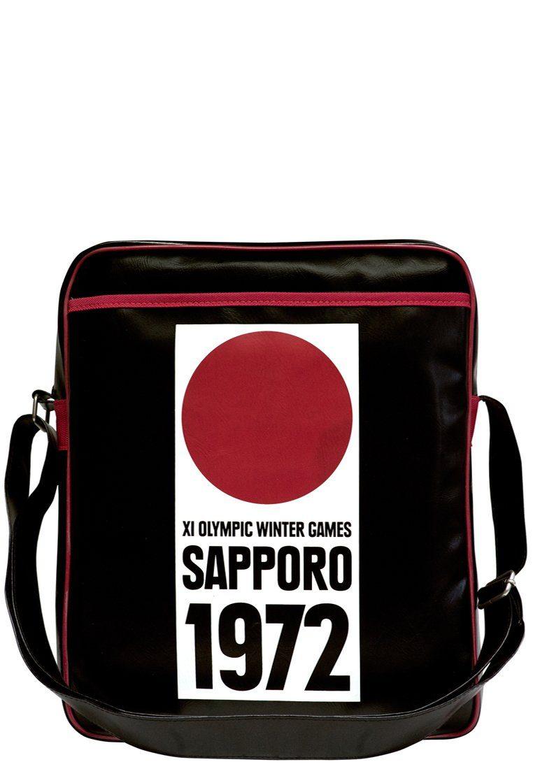 LOGOSHIRT Tasche mit Sapporo 1972-Aufdruck »Sapporo 1972 Olympische Winterspiele«