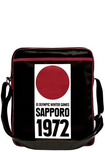 Olympische Sapporo »sapporo Logoshirt 1972 Mit Tasche aufdruck Winterspiele« 1972 pSqqwU7HnW