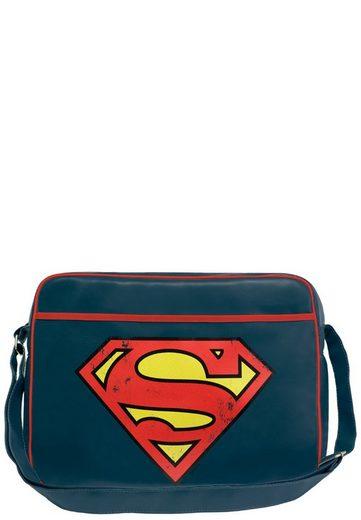 frontprint »superman Logo Logo« Mit Superman Tasche Logoshirt P7IqpU