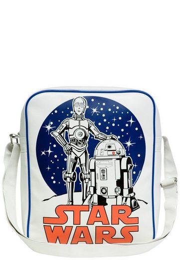 C d2 Mit R2 Logoshirt C Der 3po Sterne R2 frontdruck Tasche »krieg Und d2« 3po wURRqxpnW