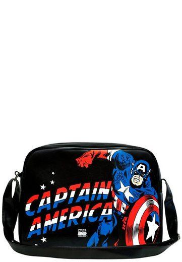 Logoshirt America Comics« print – »captain Mit Captain America Marvel Umhängetasche rHRSYqr