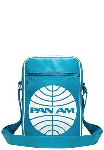 print Am World Am Pan American Mit Schultertasche Airways« logo Logoshirt »pan zq0X4fxn