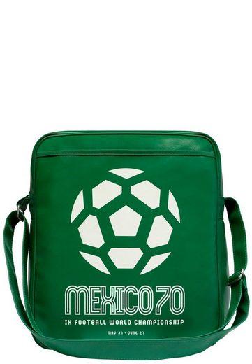 Wm weltmeisterschaft« Logoshirt Schultertasche 70 aufdruck Fußball »mexico Fußball Mit Mexico FTFzg