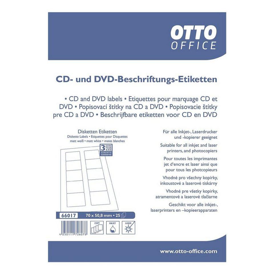 OTTO Office Standard 250er-Pack Disketten-Etiketten