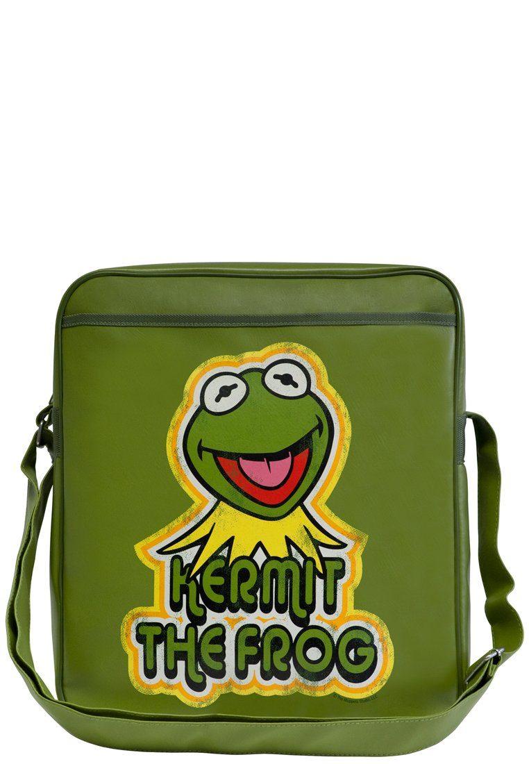Tasche Frosch Show« Mit »kermit frontdruck Muppet Frosch Logoshirt Kermit Der vdn6vO