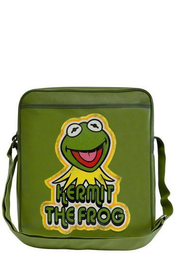 Kermit Muppet Logoshirt Der »kermit Frosch Mit Show« Frosch frontdruck Tasche nB8E1