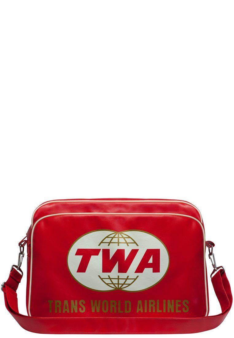 LOGOSHIRT Tasche mit Trans World Airlines Logo-Frontdruck »TWA - Trans World Airlines«