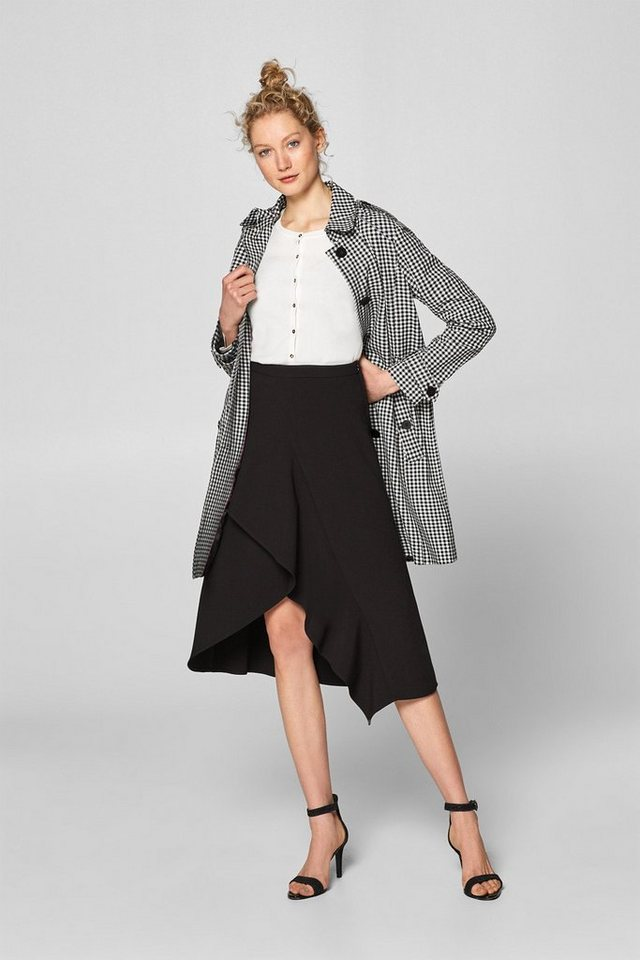Esprit Collection Cardigan mit Knopf-Details