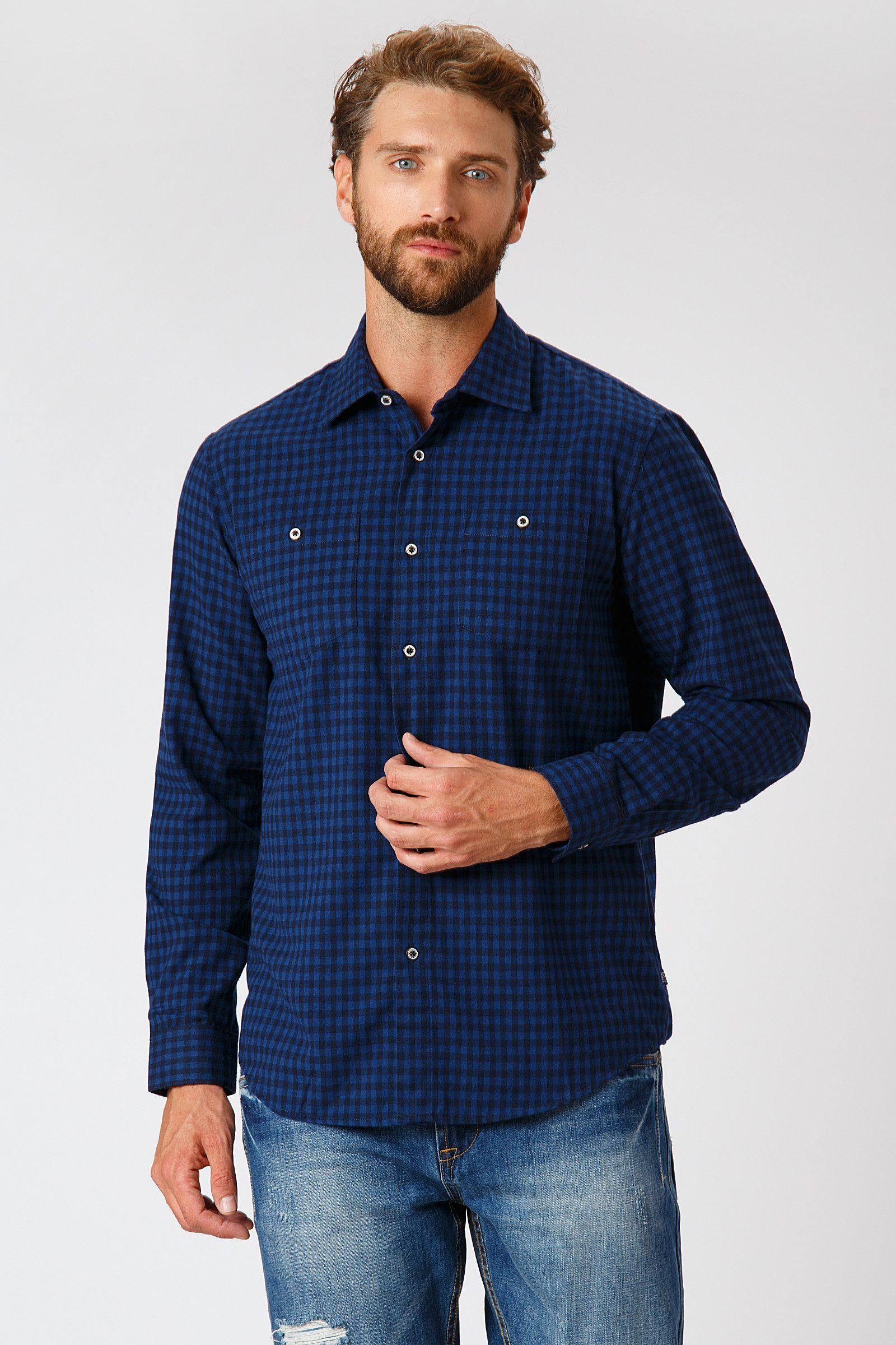 Finn Flare Freizeithemd im angesagten Design