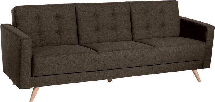 Max Winzer® 3-Sitzer »Julius«, inklusive Bettfunktion & Bettkasten, Breite 224 cm