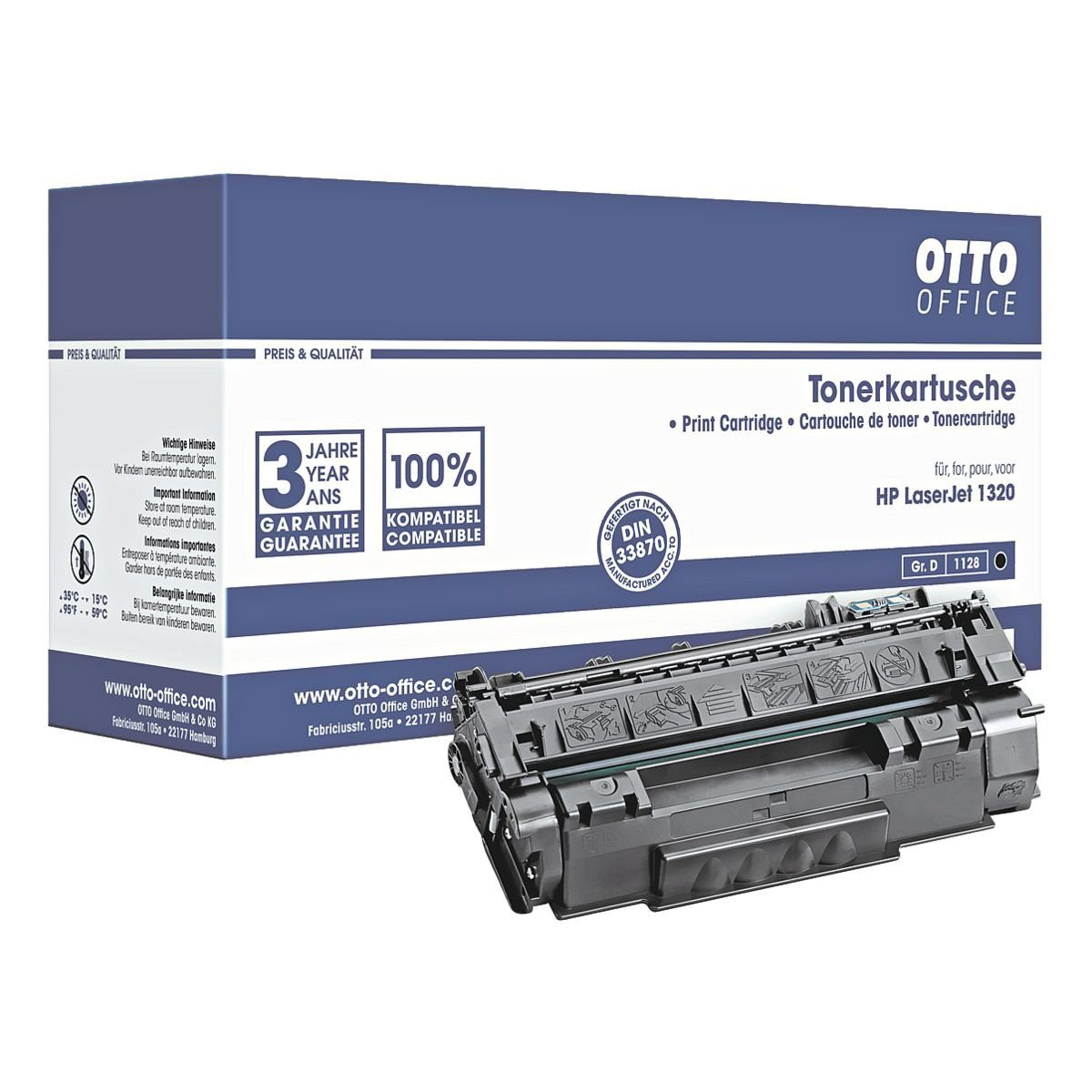 OTTO Office Standard Toner ersetzt HP »Q5949A« Nr. 49A
