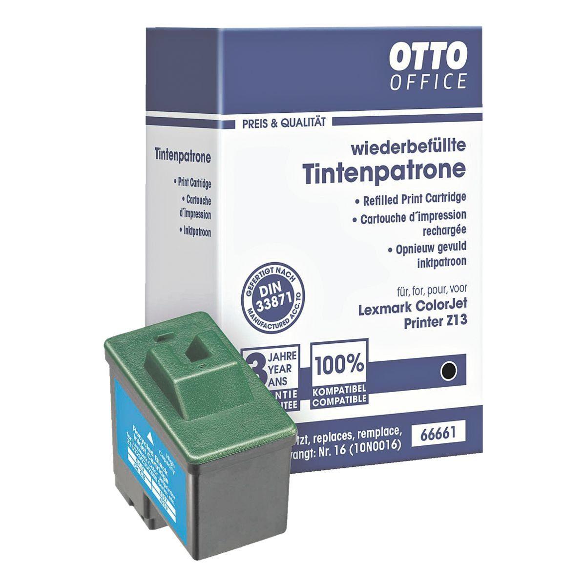 OTTO Office Standard Tintenpatrone ersetzt Lexmark »10N0016« Nr. 16