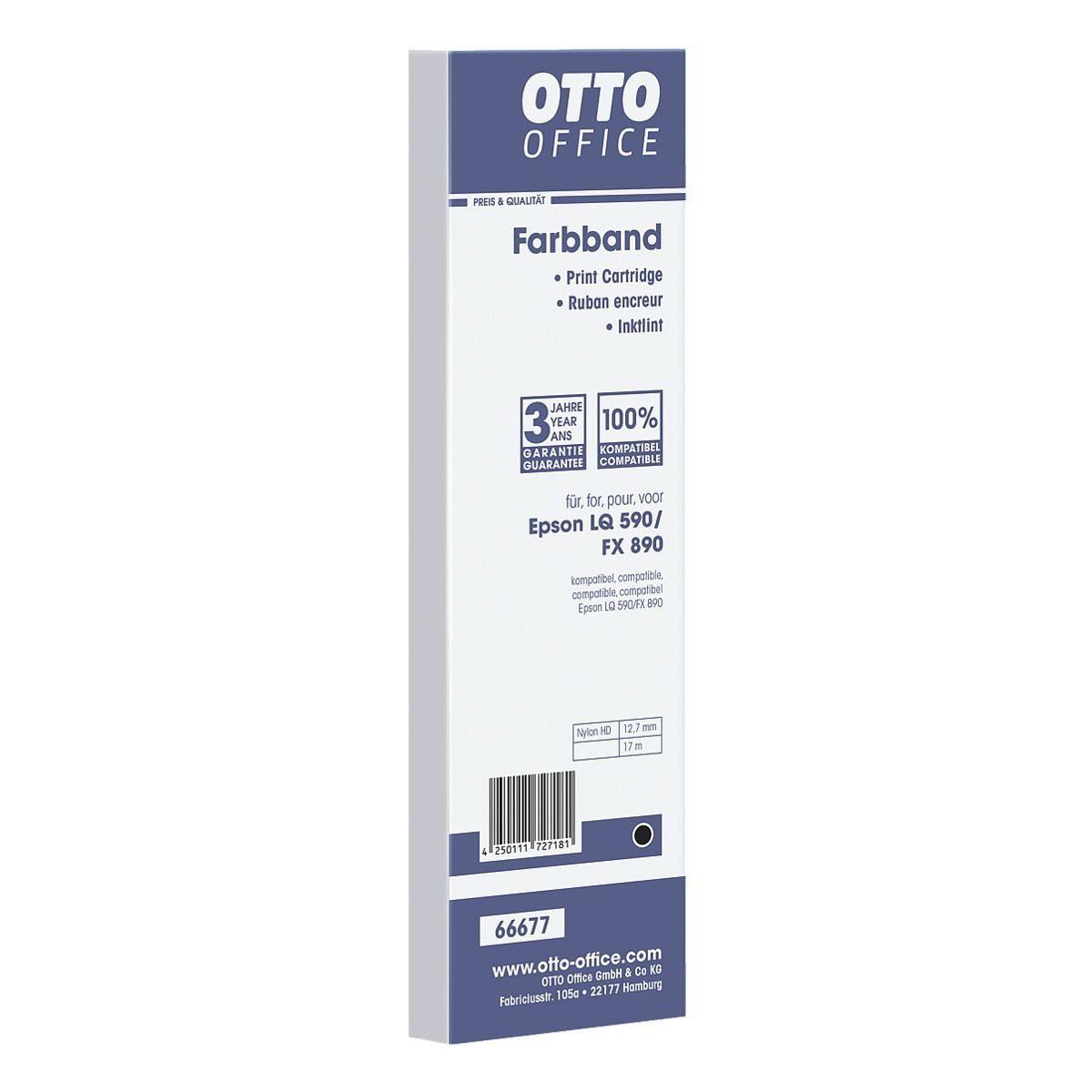 OTTOOFFICE STANDARD Nylonfarbband ersetzt Epson Nr. LQ-590 »S015337«