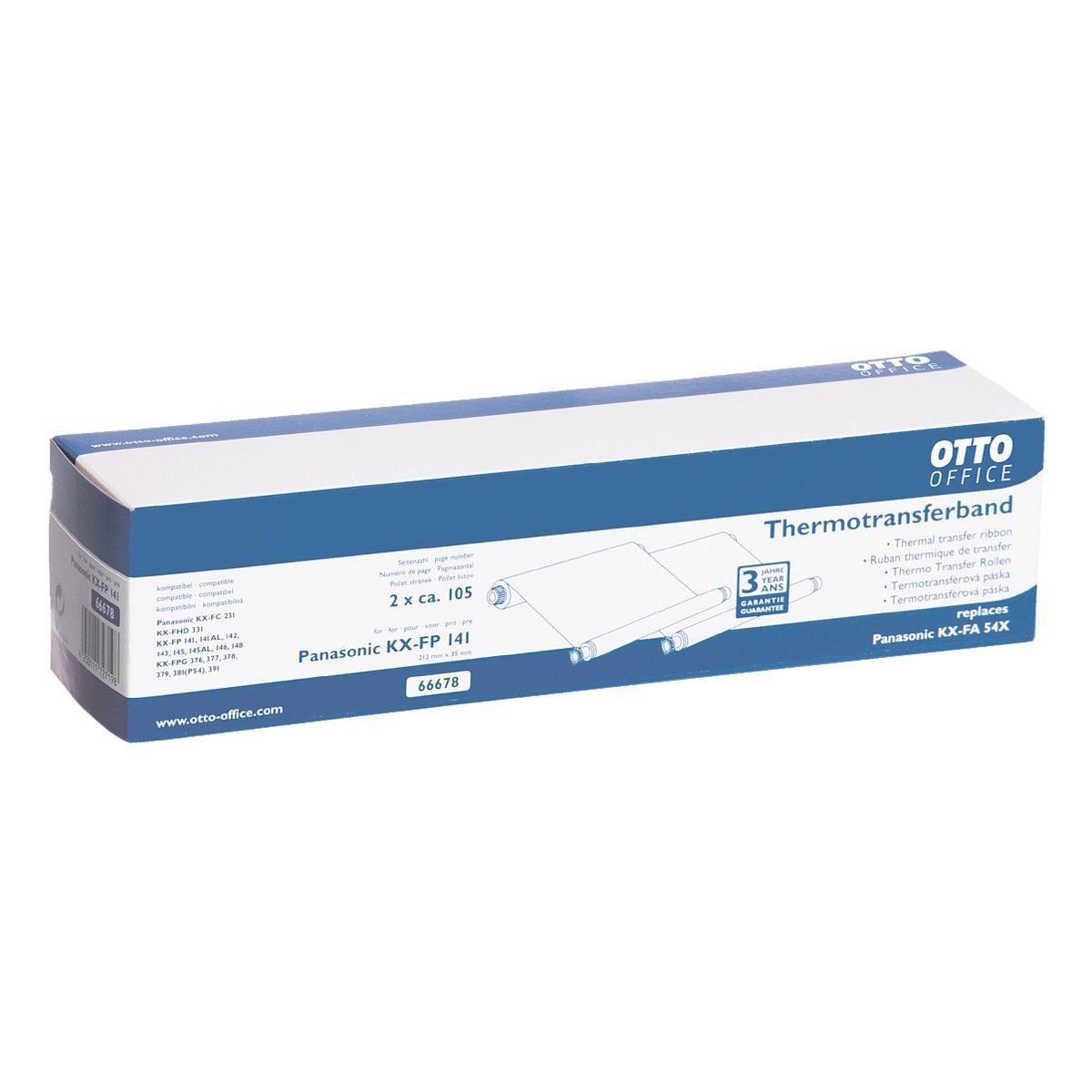 OTTO Office Standard Transferfolie ersetzt Panasonic »KX-FA54X«