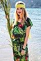 Aniston by BAUR Schlupfhose mit Tropical Print, Bild 13