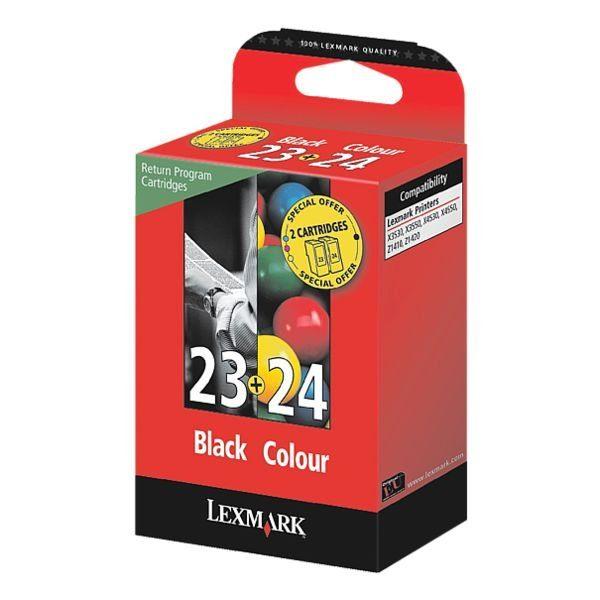 Lexmark Tintenpatronen-Set Nr. 23 & 24 »18C1523 & 18C1524«