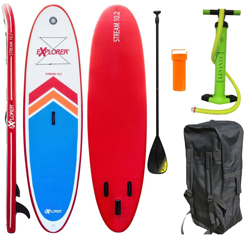 EXPLORER Stand Up Paddle SUP-Board »Stream 10.2«, BxL: 86 x 310 cm